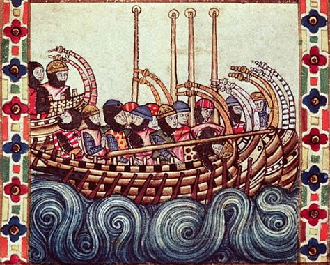 boat written in spanish fol 53r departure of a boat for the crus spanish school