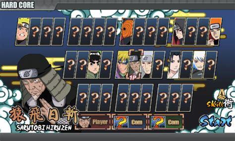 Cara Mod Sendiri Game Naruto Senki | cara membuka hardcore mode naruto senki tanpa mod semua