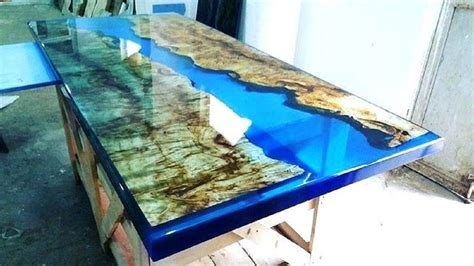 extreme woodworking epoxy resin wood table  action