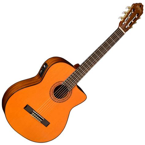 Gitar Classic Nilon New Shelby New washburn c5ce classical string electro acoustic guitar at gear4music