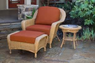 Outdoor Patio Chairs With Ottomans Outdoor Patio Furniture Mojave Resin Wicker Club Chair Ottoman End Table Ebay