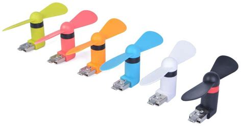 Kipas Mini Portable Otg Kipas Angin Android micro usb otg mini portable fan for android smartphone