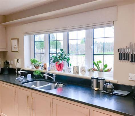 living room  kitchen pelmet blinds louise cowan interiors