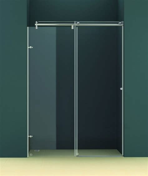 Charm Frameless Sliding Glass Shower Doors Home Ideas Sliding Glass Shower Doors Frameless