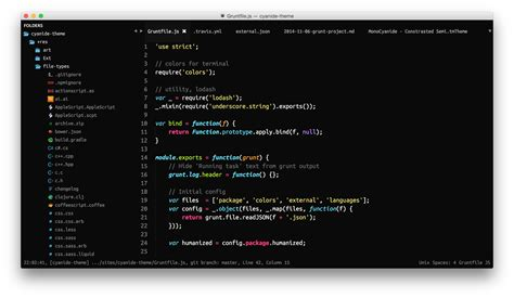 theme monokai packages package control theme cyanide packages package control