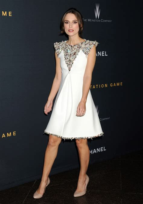 Gamis Fashion Chanel keira knightley in chanel couture at the quot the imitation