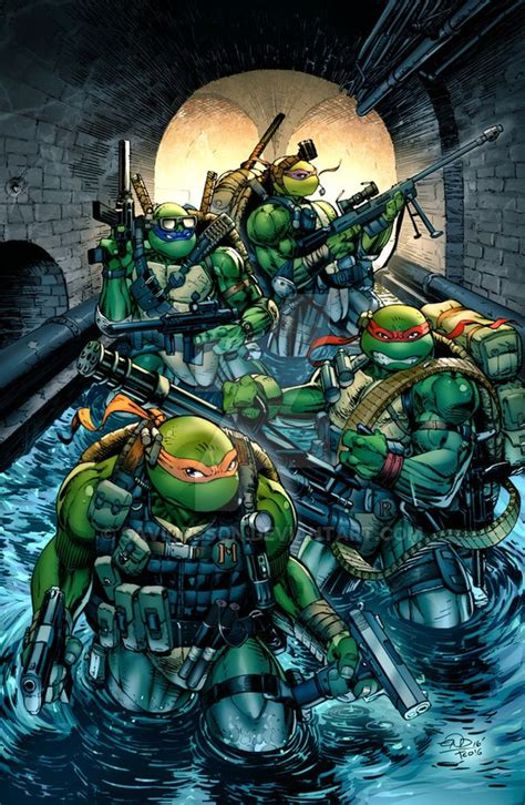 turtles colors tmnt seal team turtles colors by saviorsson on deviantart