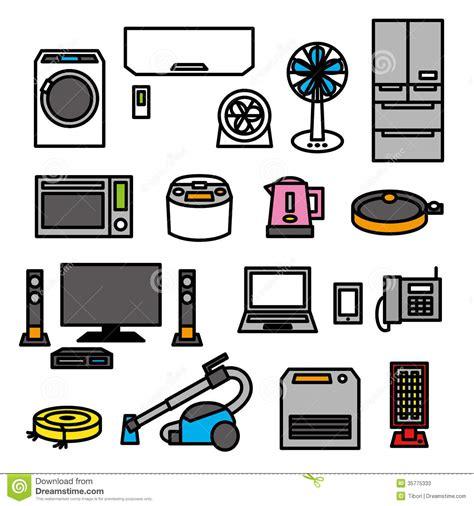 2d Kitchen Design by Electric Appliances 01 Stock Photos Image 35775333