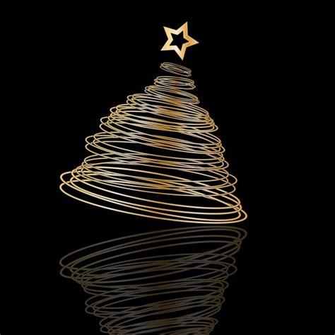 225 rbol de navidad en espiral sobre fondo negro descargar