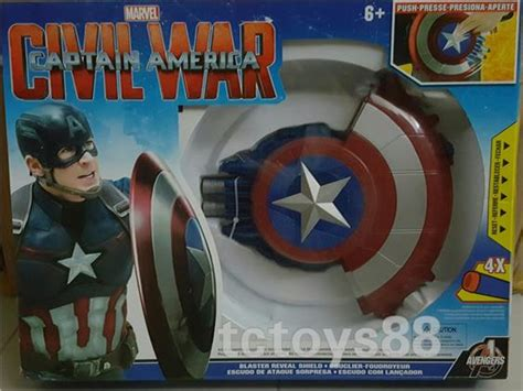 Sale Blaster Reveal Shield Capt America Mainan Anak Cowok Murah captain america blaster reveal shie end 6 23 2018 6 01 pm