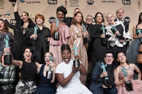 Or Cast 2017 Starurile Din Quot Orange Is The New Black Quot 206 N Serial Vs La Sag Awards Ok Magazine