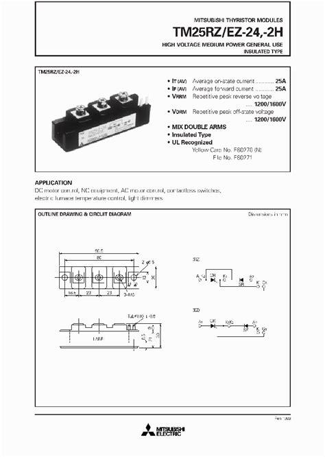 tipe transistor igbt tm25rz 24 984255 pdf datasheet ic on line