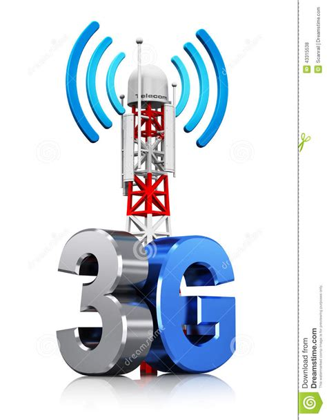 wireless communication concept stock illustration illustration  radio cellphone