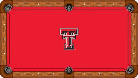Texas Tech Red Raiders 8 Pool Table Felt Pool Table Raiders Pool Table