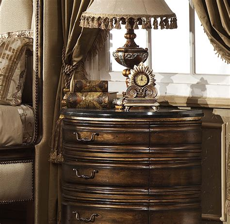 oxford nightstand  granite top marble  granite collection furniture store