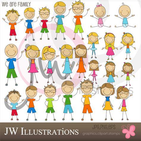 doodlebug playschool we are family stick figures by jddoodles on deviantart