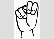 File:Sign language N.svg - Wikipedia Clip Art Hang Loose