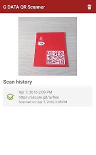 Play Store Qr Code Scanner G Data Qr Code Scanner Apps On Play