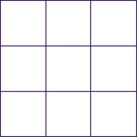 empty grid math forum squaring a magic square 3x3 blocks empty grid