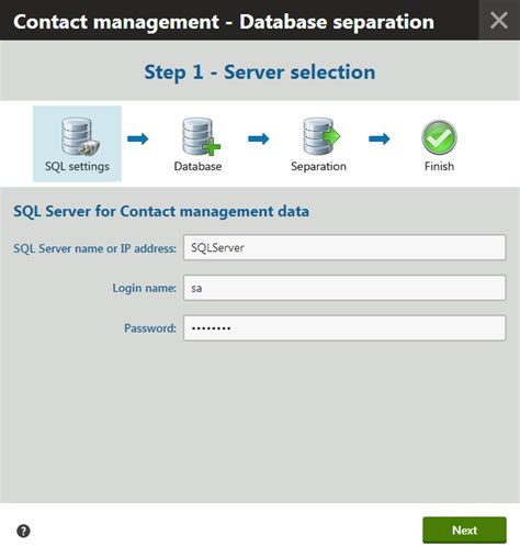 separating the contact management database kentico 8