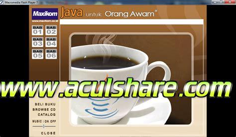 java untuk orang awam ebook free software
