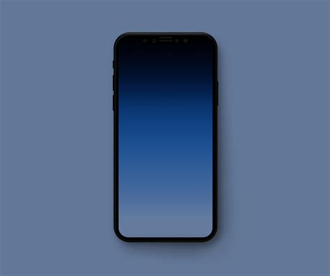 minimal gradient wallpapers to hide the iphone x notch