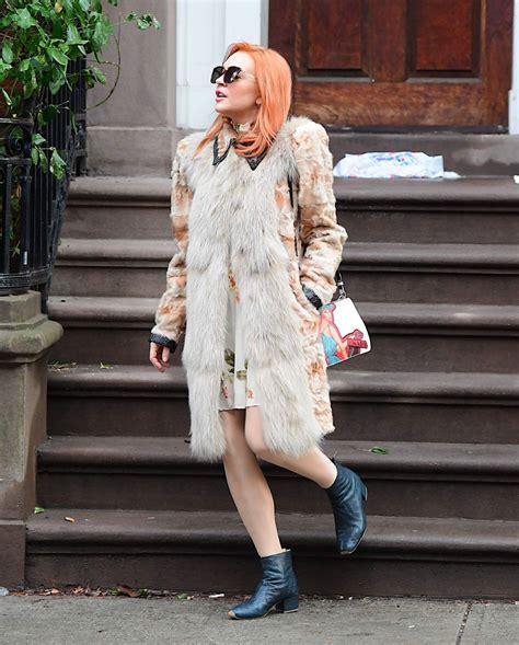 Lindsay Lohan Celebrates Independence lindsay lohan celebrates grandmother s 94th birthday
