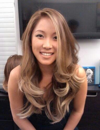 blonde asian hairstyles pearl blonde ombre on asian hair yelp hair colors