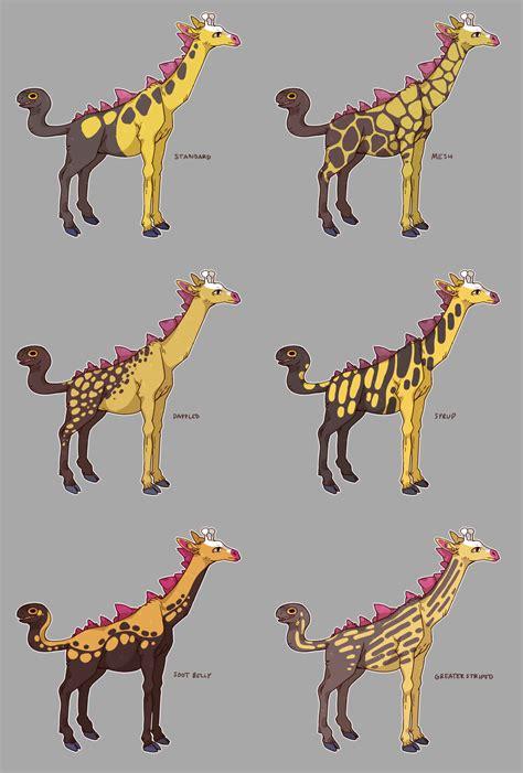 Or Variations Girafarig Variations Weasyl