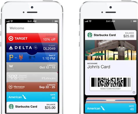 Apple Passbook Gift Card - mwc 2013 samsung wallet app showcased techtree com