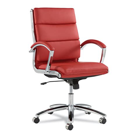 Office Chairs Home Goods Alera Alenr42 Neratoli Mid Back Swivel And Tilt Leather