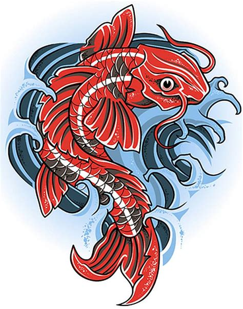 orange koi fish tattoo design koi gallery slideshow
