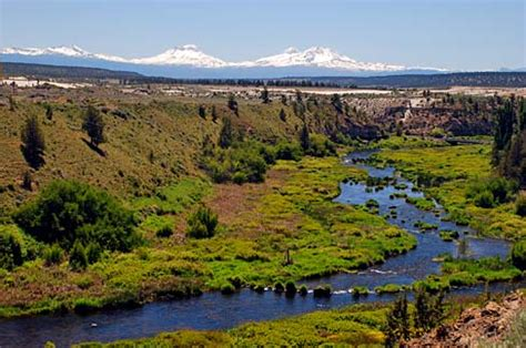 Deschutes County Records File Deschutes River And Three Deschutes County Oregon Scenic Images