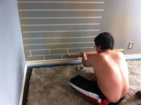 how to faux paint a wall hometalk how to make a faux brick wall using paint