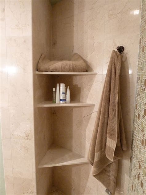 Marble Shelf Bathroom by Crema Marfil Marble Shelves For Towels And Shower Products