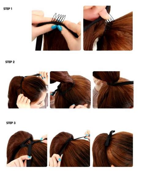 easy and simple hairstyles to do at home hairstyles easy to do at home