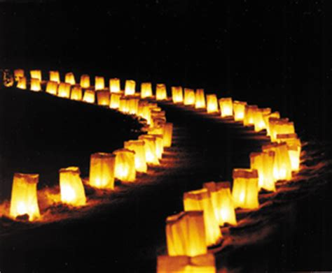 christmas luminary lights sherwood oaks neighbors addendum to minutes luminaries block captains