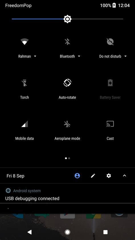 black themes for android the pixel 2 has a but disabled theme