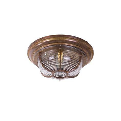 Light Fittings For Ceilings Industrial Nautical Bronze Bulkhead Light Lighting And Lights Uk
