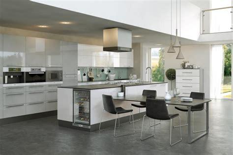 firbeck supergloss white light grey kitchen
