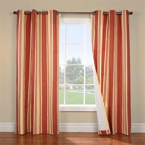 terracotta curtains weathermate broadstripe terracotta beige insulated