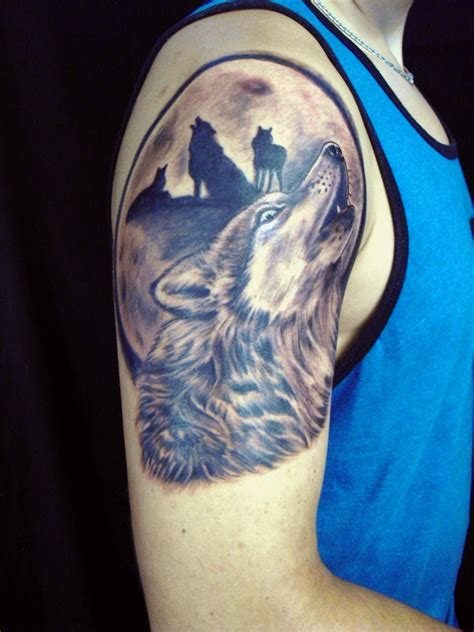 wolf pack tattoo howling wolf wolves pack by diane lange moonlight
