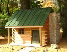 log cabin dog house plans dog house ideas on pinterest dog houses floating deck and goat house