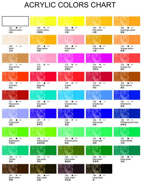 color paint catalog images