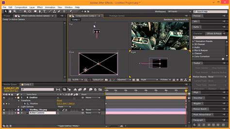 tutorial after effect bomb missile explosion vfx after effects trapcode particular