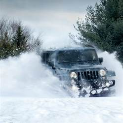 Jeep Wrangler Snow The Country Chrysler Heavy Snow Warning Yes