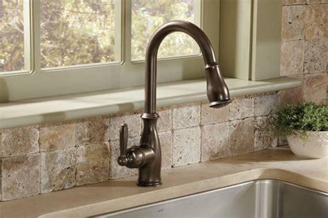 moen orb brantford  handle high arc pulldown kitchen faucet oil rubbed bronze