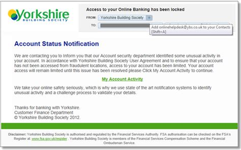 email format for yorkshire building society teach a man to phish and make him a millionaire