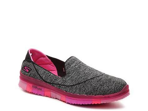 Skecher Go Flex Flat 7 skechers go flex slip on walking shoe womens dsw