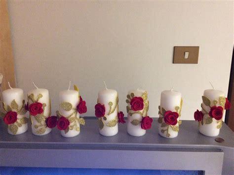 decorare candele natalizie candele decorative natalizie per la casa e per te